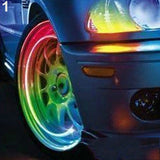 Multicolor Wheel Car Lights Tire Valve Tyres Intelligent Cool Zinc Alloy Lamp