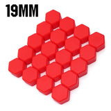 20Pcs 19mm Universal Car Styling Auto Hub Screw Cover Dust Proof Wheel Nut Caps