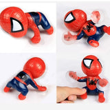 Auto Supplies Cartoon Climbing Spider Man Window Sucker Car Interior Decoration