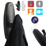 Home Hidden Pinhole Clothes Hook Camera Motion Detection Audio Video Recorder
