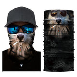 Outdoor Cycling Riding 3D Animal Magic Headband Head Scarf Face Mask Neck Warmer