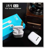 Mini Airpod Wireless Bluetooth t With Charging Box Mic for Samsung Android Xiaomi VS i7 i7s