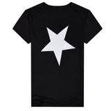 Fashion Star Men Crew Neck Short Sleeve Slim Fit Pullover T-shirt Casual Top