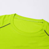 Quick Drying Breathable Sports Men Outdoors Gym Cotton Summer Top Tee T-shirt