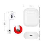 Wireless Earphone Bluetooth 5.0 With Mic for IPhone X 8 7 Plus For Android Phones