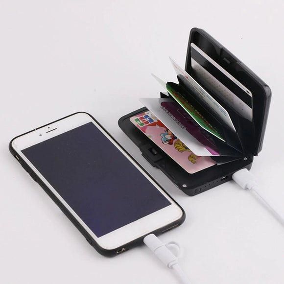 2 in 1 E-Charge Wallets