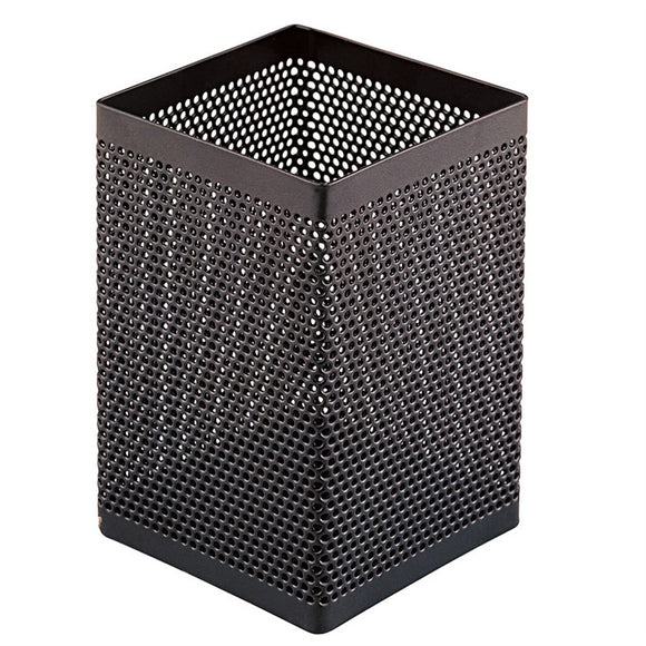 Steel Mesh Pencil Holder ( Black )