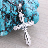 Black Butler eagle flag cross Necklace DM570