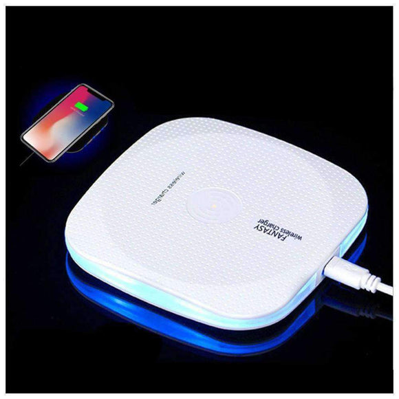 Fast 10W Qi Wireless Charging Pad With Anti Slip Rubber