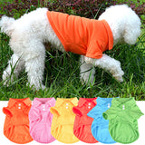 Cute Pet Puppy Polo Shirt Small Dog Cat Pet Clothes Costume Apparel T-Shirt