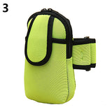 Adjustable Mobile Phone Arm Bag Wrist Pouch Case Running Sport Outdoor Armband