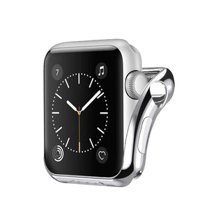 Local store Plating Ultra-Slim Protected Case Cover For Apple Watch Series 2/3 38mm SL