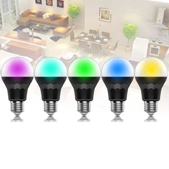Smart LED Light Bulb Dimmable Multicolored Color Changing Bluetooth Night Light