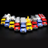 Mini Scale Ladder Fire Truck Simulation Car Toy