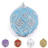 Christmas Tree Decor Foam Ball Bauble Xmas Party Wedding Cute Hanging Ornament