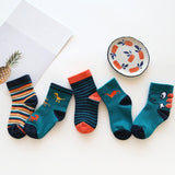 Baby Boy Socks 5 Pairs Children