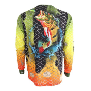 Pure Performance Peacock Bass Fishing Shirt