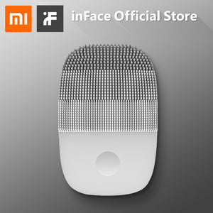 InFace Deep Cleansing Face Brush Facial Cleaning Waterproof Silicone Electric Sonic Cleanser