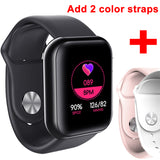 Smart Watch Waterproof Blood Pressure Heart Rate Monitor Sleep Tracker Clock For Android IOS