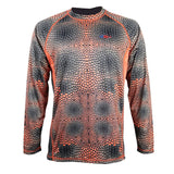 50 UV Predator Red Fish Performance Fishing Shirt