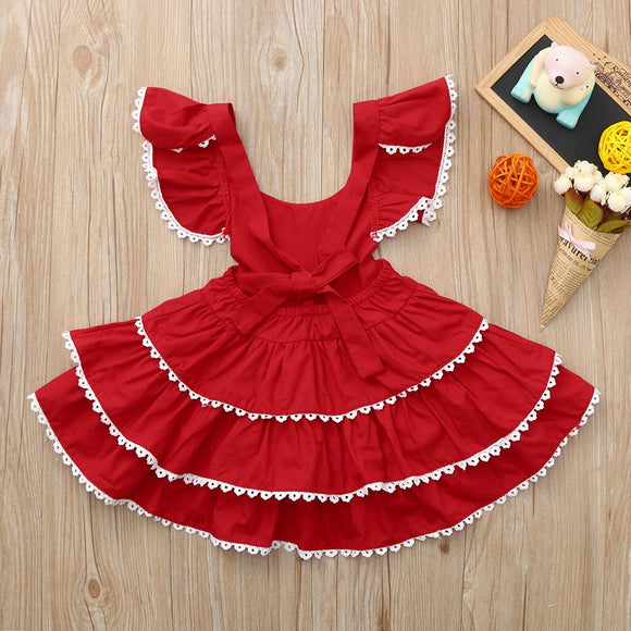 Summer Fresh Toddler Baby Girls Kids Backless
