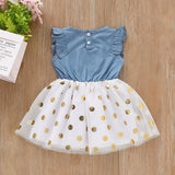 Summer New Fashion Toddler Baby Girls Sleeveless