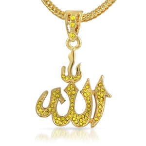 Allah Lemonade Small Pendant  Chain