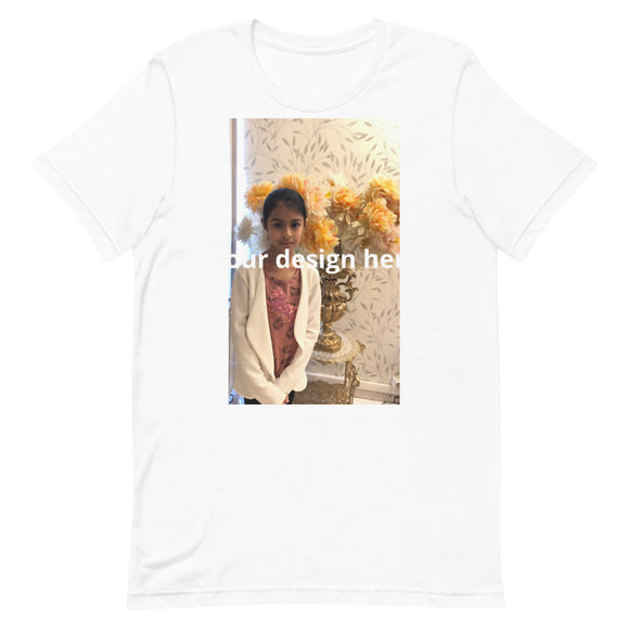 Short-Sleeve Unisex T-Shirt add your design