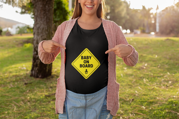 Baby On Board Short-Sleeve T-Shirt