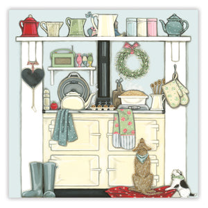 Domestic Goddess Greetings Card