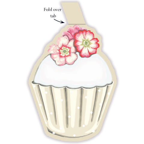Cupcake Gift Tags - pack of 6