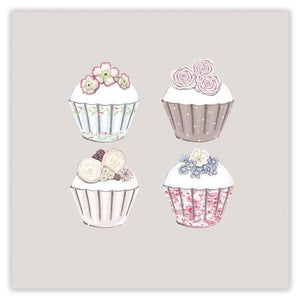cupcakes greetings card