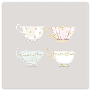 cups greetings card
