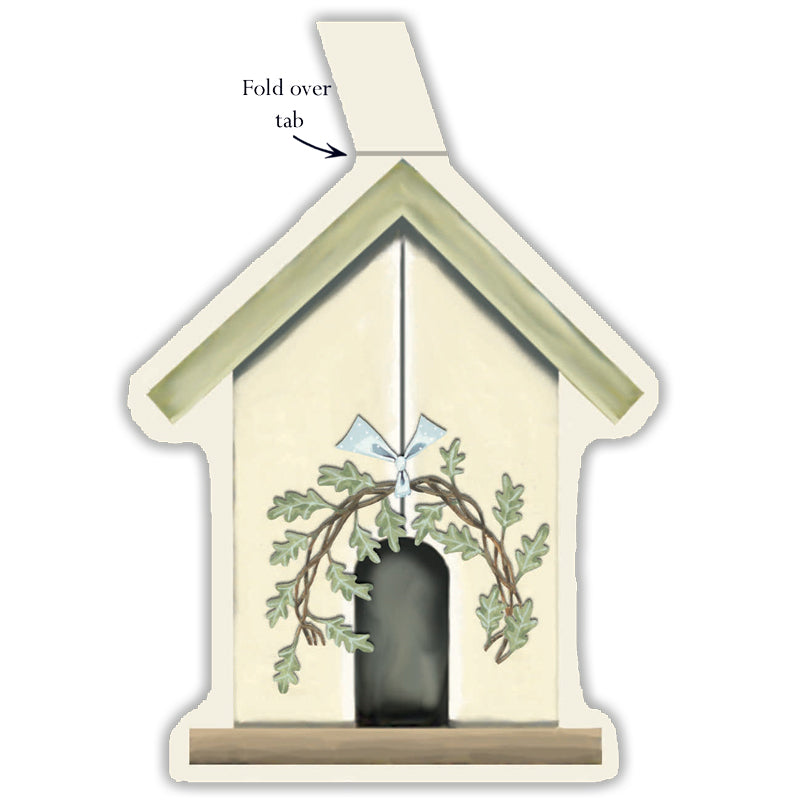 Birdhouse Gift Tags - pack of 6