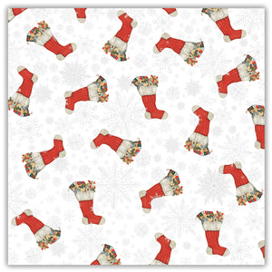 Stockings Gift Wrap & Bag Pack