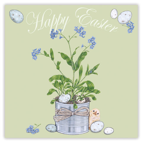 happy easter (chic & egg) greetings card