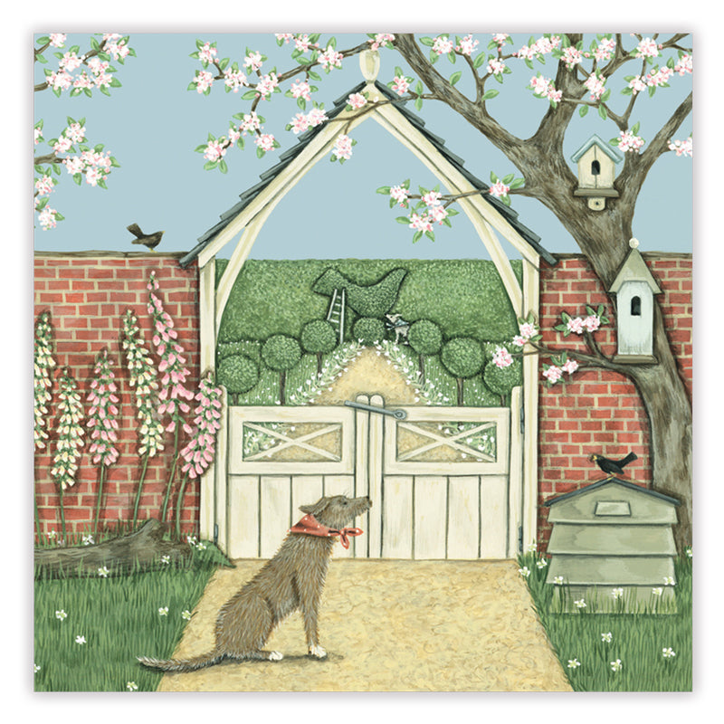 lych gate greetings card