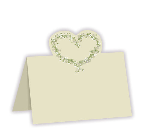 cherish wedding place card