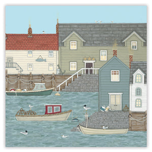 quayside greetings card