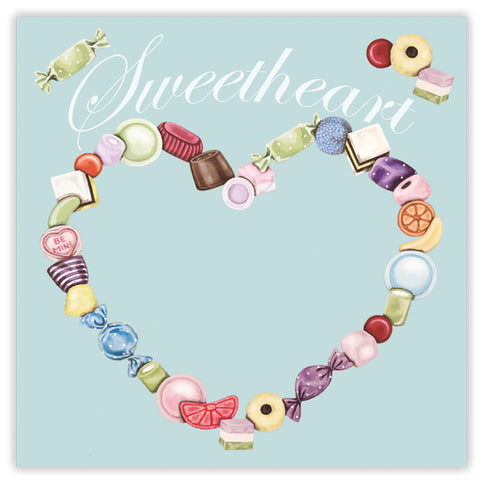 sweetheart greetings card