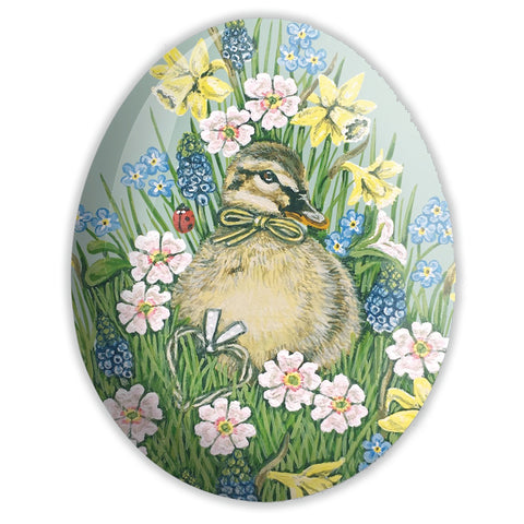 duckling egg soap tin