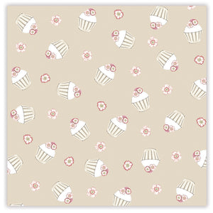 Cupcake Gift Wrap & Bag Pack
