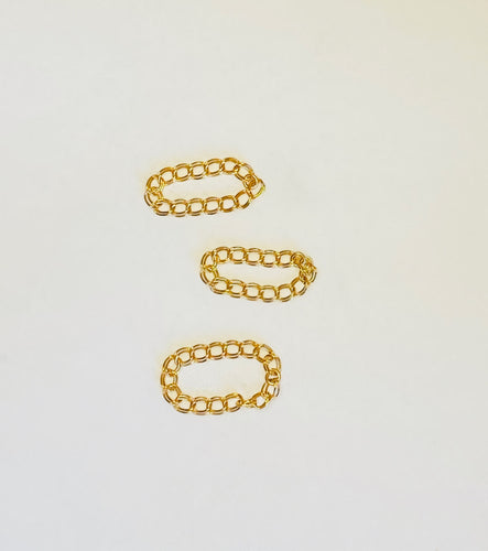 Double Link Chain Stacking Ring