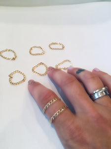 Chain Link Stacking Ring