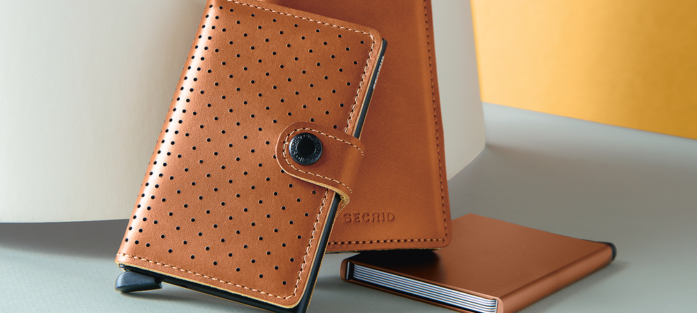 Secrid Cognac Wallets