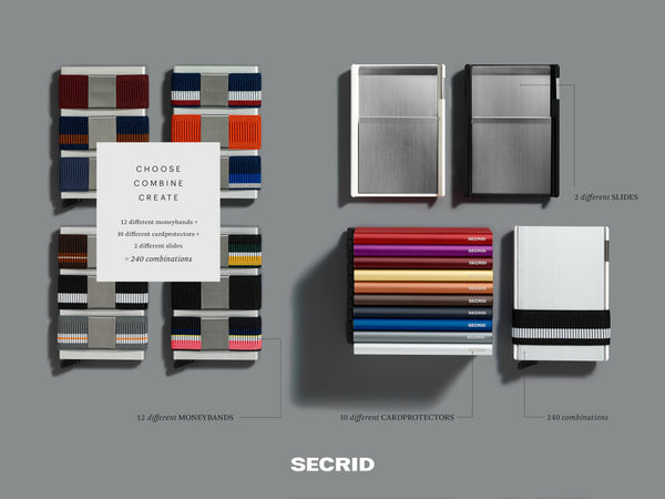 Secrid Cardslide Selection