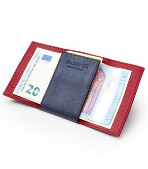 Double 00 Barcelona wallet, hand made in Spain.