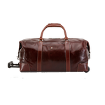 Jekyll & Hide Leather Cabin Wheeled Holdall