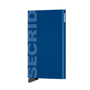Load image into Gallery viewer, Secrid Laser Logo Blue Cardprotector