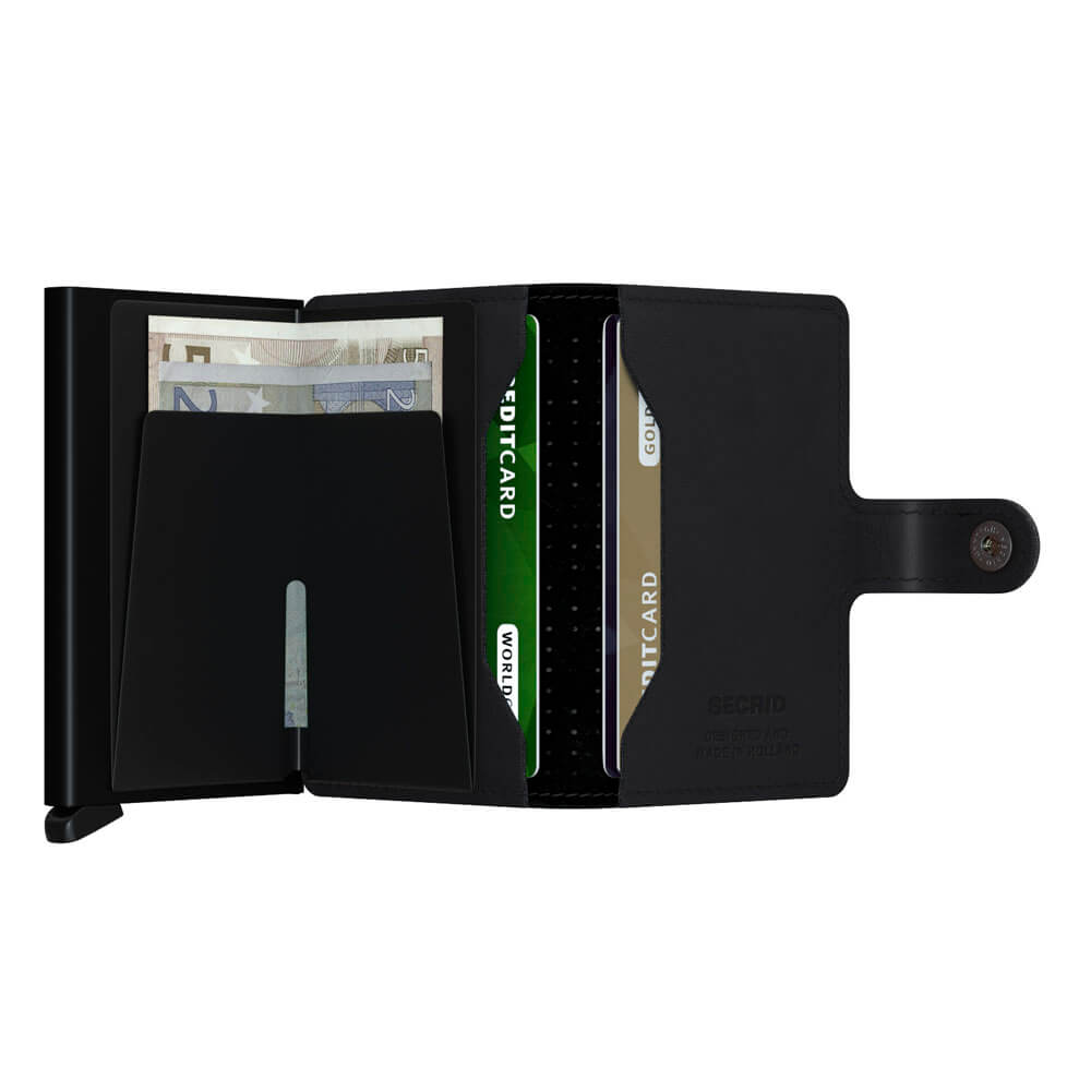 Load image into Gallery viewer, Secrid Miniwallet Perforated Black